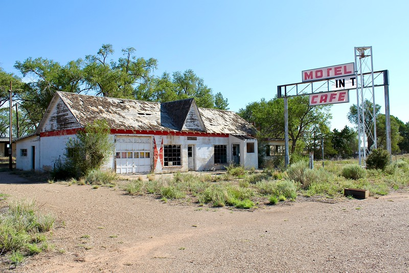 Texas Longhorn Motel, Cafe, and Phillips 66 station (2020)