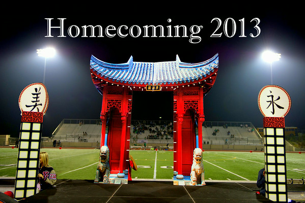 YLHS Homecoming Court 2013