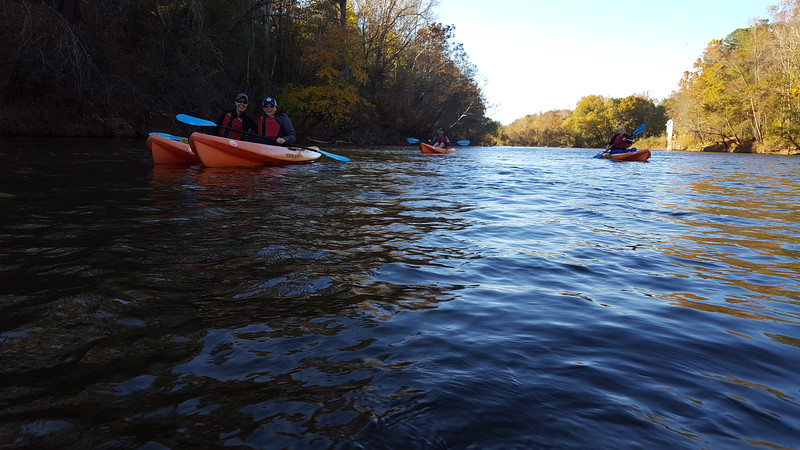 Saluda River - Kayaking - 11-19-2016