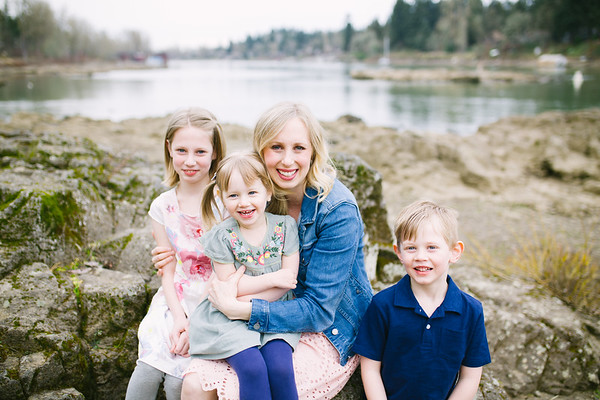Evans Family | George Rogers Park Photography