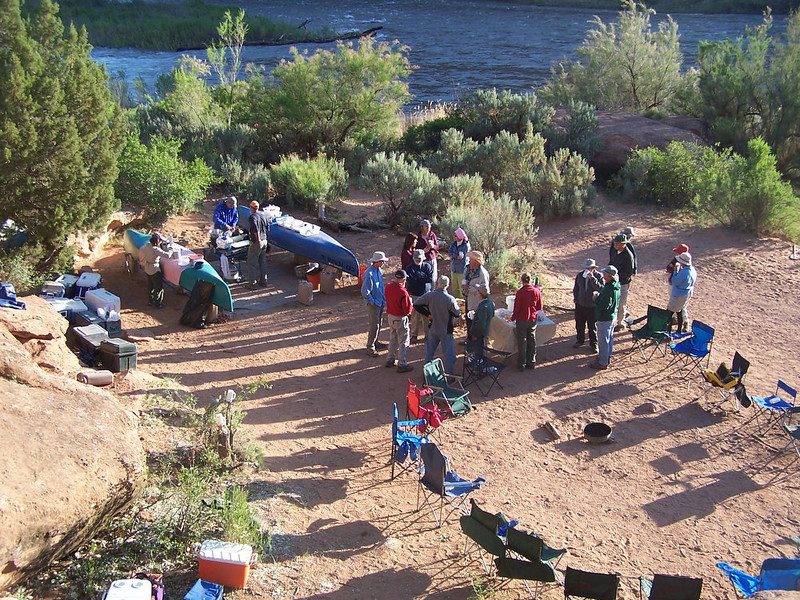 . Overnight trips, including those with experts in fields about which rafters are passionate, offer a chance to sleep next to the river, get more comfortable with gear, and relax in remote wilderness areas. (Provided by Colorado River Outfitters Association)
