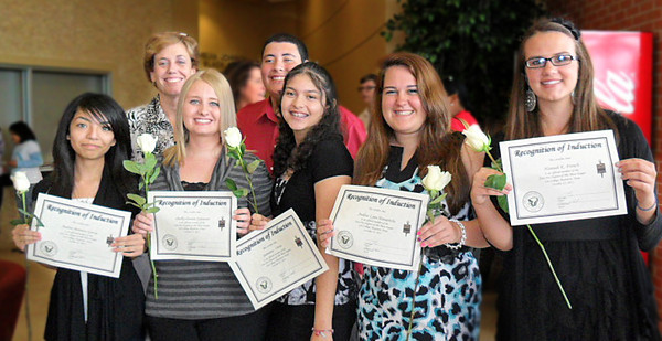 Phi Theta Kappa Inductees 10/30/2011