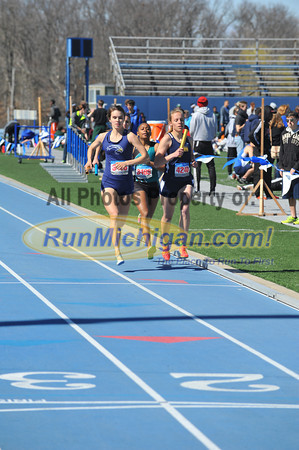 Women's 4x800 Relay - 2014 Gina Relays