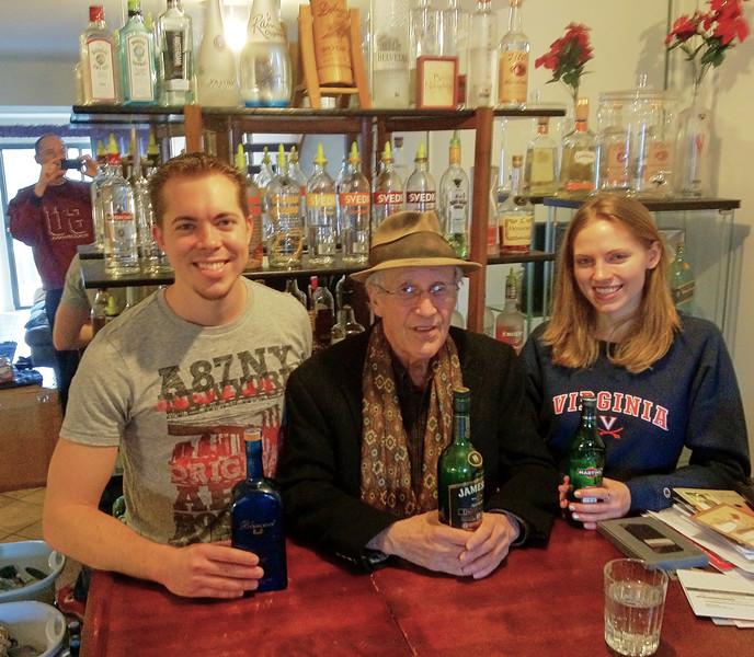 NIck, Larry Lebin, Annie - at Nick's condo in Mechanicsburg PA. Dec 28 2012