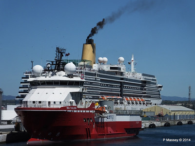 Ships Spotted from mv FUNCHAL 22 Apr - 1 May 2014