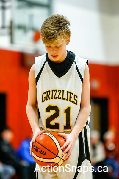 Boys Grade 7 A Championship - Grizzlies vs MPI