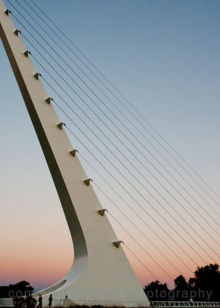 The Sundial Bridge in Redding, Ca   7719