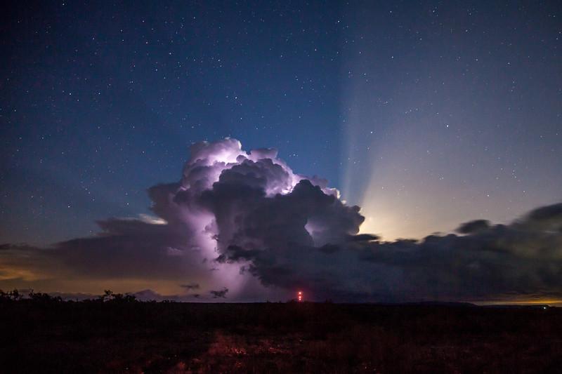 Oklahoma Moonrise