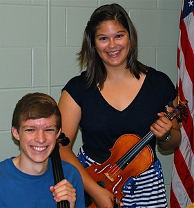 2011 08 18: String Gig, Federica, violin; Seth, cello @ WITC, Superior WI
