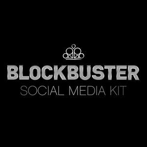 Blockbuster Social Media Kit