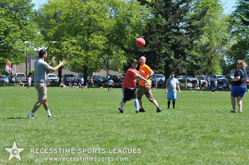 Recesstime Sports Leagues Portland Kickball Spring 2013 Dodgeball Bowling Ping Pong Mushball - 070