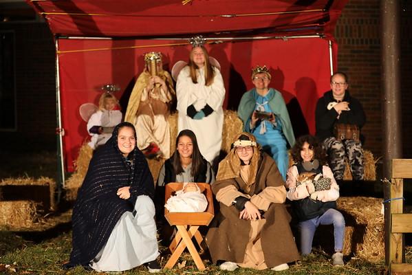 Live Nativity slide show for website