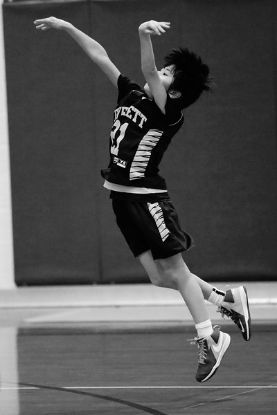 Aaron 5th Grade basketball
