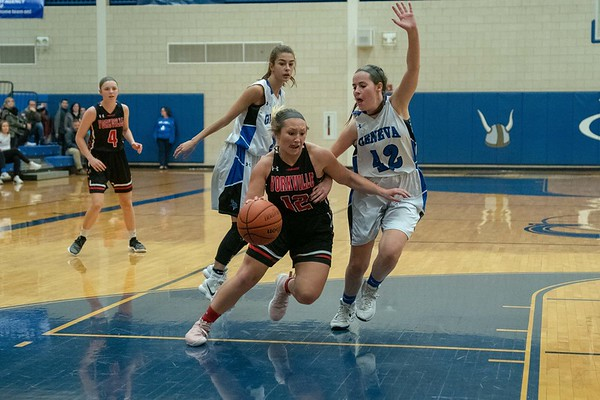 Yorkville Girls Basketball - Dec. 11, 2018