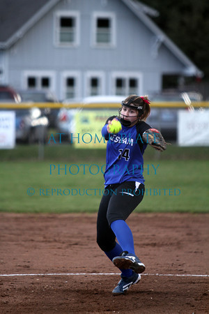 Varsity Softball vs Hood River 0-1