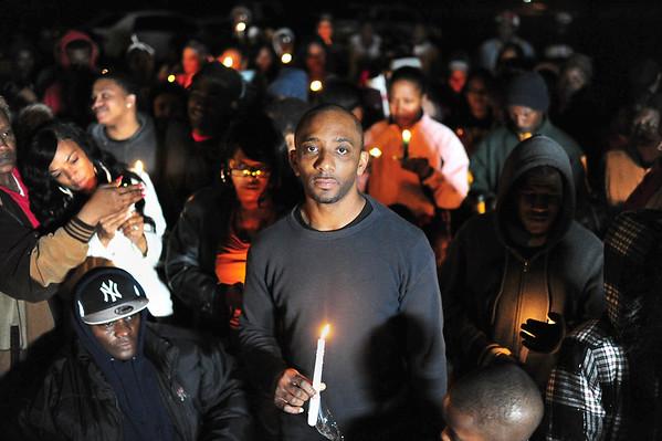 Breaux Bridge Police Shooting Vigil