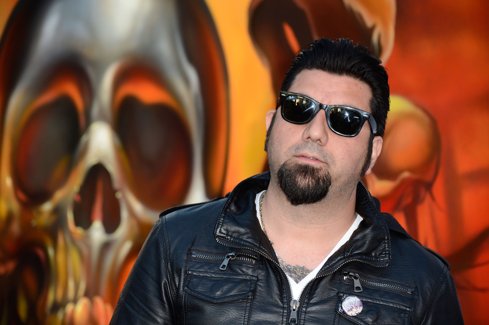 . Chino Moreno arrives at the 5th Annual Revolver Golden Gods Award Show  at Club Nokia on May 2, 2013 in Los Angeles, California.  (Photo by Frazer Harrison/Getty Images)
