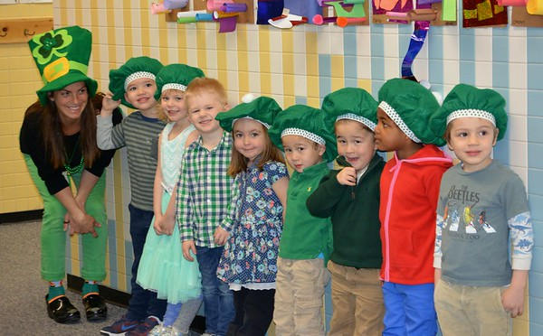 Pre-School Celebrates St. Patrick's Day