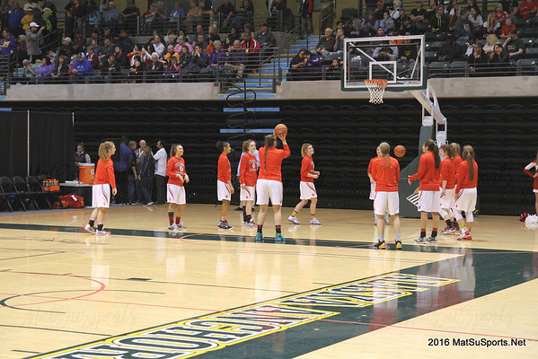 Wasilla Vs. West Valley G (STATE) 3-25-2016
