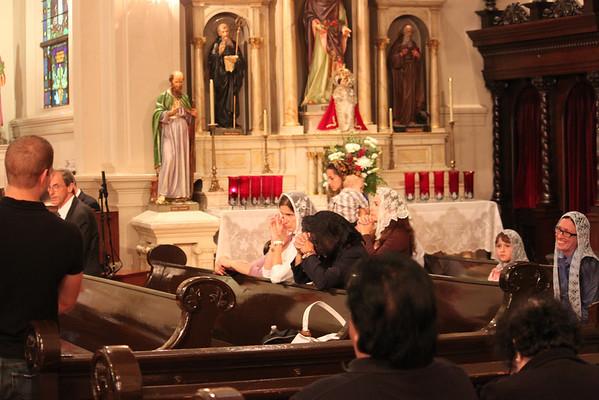 Saint Philomena Masses