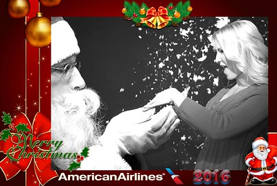 American Airlines Christmas Party 2016