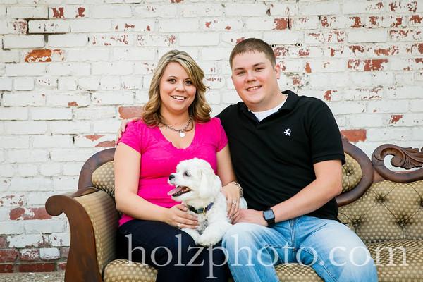 Samantha & Brandon Color Engagement Photos