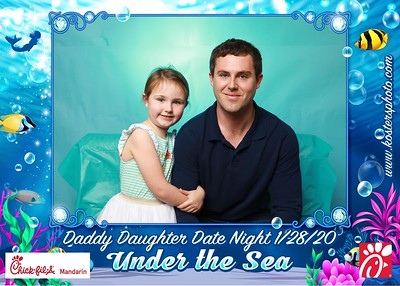 Daddy Daughter Date Night Jan 28
