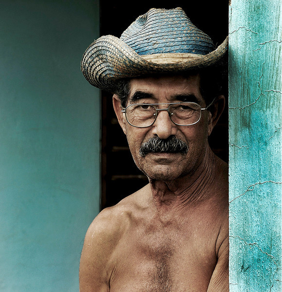 Cuban farmer.