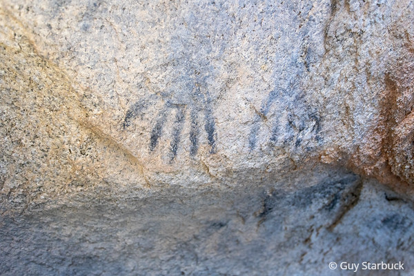 Black Hands Pictographs