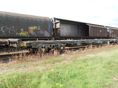 KFA (CAIB) - Standard Bogie Container Flat Wagon (Refuse)