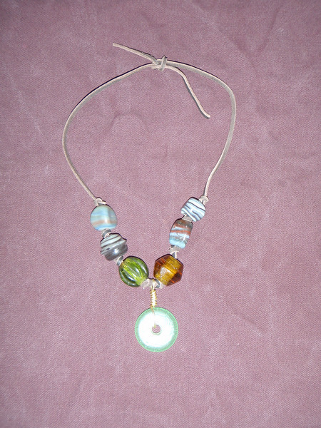 Glass Bead Necklaces
