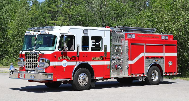Engine 1.  2015 Spartan / Marion   1500 / 750