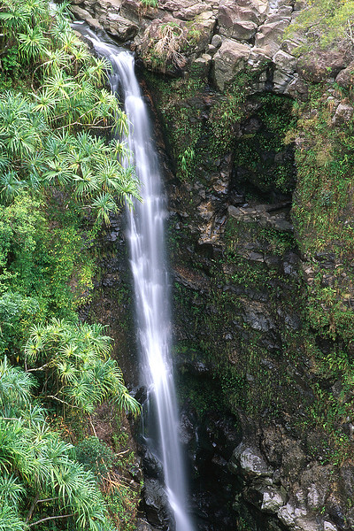 Upper Hanawi Falls, Maui, Hawaii