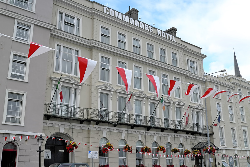 Commodore Hotel; Cóbh, County Cork, Eire - August 27, 2013
