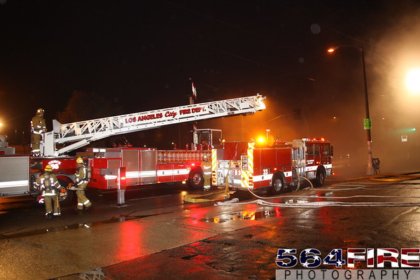 LAFD - Commercial Fire - 12-11-09