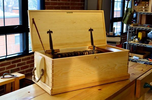 18th-century Carpenter Tool Chest