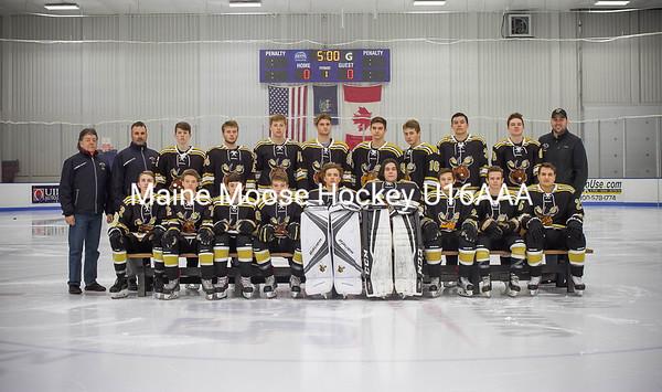 Maine Moose Hockey U16AAA