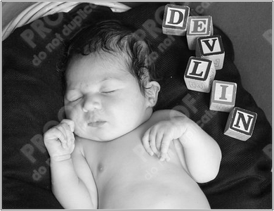 Devlin's First Photos