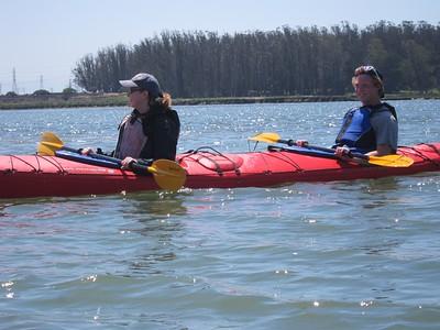 Kayaking at Moss Landing - 4/13/14