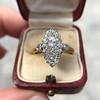 .88ctw Antique Navette Diamond Ring 6