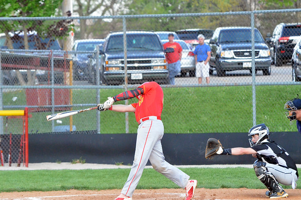 CHS Varsity Baseball vs Decatur  April 25, 2016