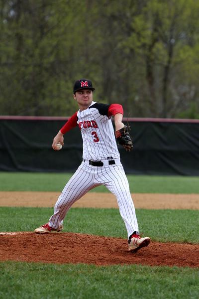 varsity baseball vs Turpin 4-17-17