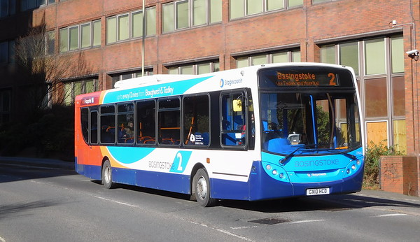 ADL Enviro300 - new to Winch P&R