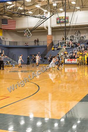 2015 02 17 Clarkston Varsity Basketball vs Southfield