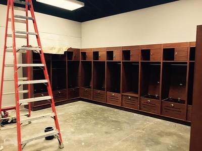 Women's Soccer Locker Room
