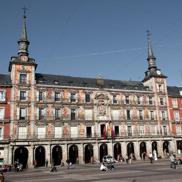 Real Casa de la Panadería (Royal Bakery) in Plaza Mayor