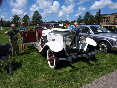 Ursuline College British Car Show