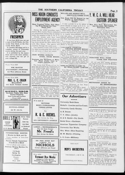 The Southern California Trojan, Vol. 8, No. 3, September 21, 1916