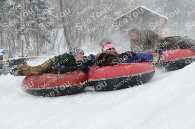 Snow Tubing 3-3-12 3pm-5pm Session