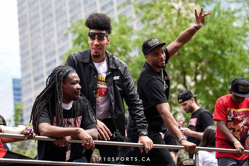 TORONTO, CANADA - Jun 17: during the Toronto Raptors NBA Championship Parade at Downtown Toronto. Photo: Michael Fayehun/F10 Sports Photography